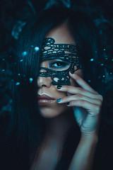 Mask (Kovalchuk Igor) Tags: woman girl asian vietnamese mask portrait magic gotic gothic