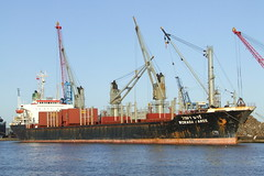Ship. Worada Naree 8223335 (dickodt65) Tags: ship bulker immingham port worada naree