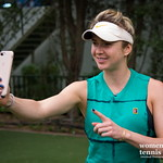 Elina Svitolina of the Ukraine