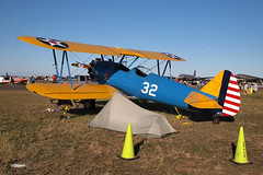 170408_123_SnF_PT17 (AgentADQ) Tags: sun n fun flyin expo airshow air show lakeland florida 2017 airplane plane trainer aviation boeing stearman pt17 model 75 kaydet