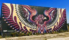 Phoenix by Chris Saunders (wiredforlego) Tags: graffiti mural streetart urbanart aerosolart publicart detroit michigan dtw mitm easternmarket chrissaunders