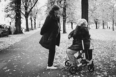 Storytelling (Zesk MF) Tags: street candid bw black white mono strase elderly sitting zesk cologne x100f fuji