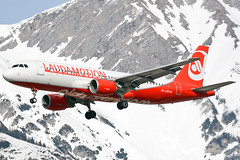 OE-LOD (toptag) Tags: airbusa320214 oelod laudamotion inn lowi innsbruck aviation tirol austria winter snow mountain