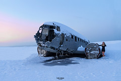 To Infinity And Beyond (× LadySchnaps.fr ×) Tags: wreckplane dc3 abandonediceland abandonedplane urbex explorers inexplore ladyschnaps lostplane selfportrait iceland icelandic islande snow landscape self winter monument scupture art artistic iceview reykjavik landspace landview landmark island fineart photography ice sky bluesky clouds cloud paysage uearoundtheworld souvenirfromearth beautifulearth nature naturalview mothernature escapefromreality escape breath souvenirs visiondailleurs fairytale fairytalepicture winteriscoming