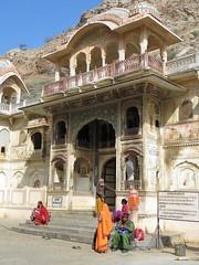 Jaipur, Galta (gerben more) Tags: temple galta jaipur arch architecture people rajasthan india building