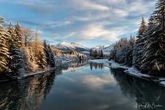 Mendenhall River, Juneau AK (Hilary Bralove) Tags: landscape alaska juneau medenhall river mendenhallriver mendenhallglacier