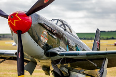 YAK-9U-M Flying Fighter Association HB-RYA (WP_RAW) Tags: legends flying duxford planes fighter airshow