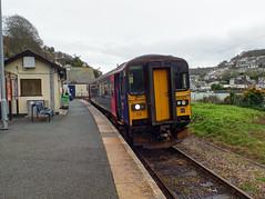 153329 Looe (6) (Marky7890) Tags: gwr 153329 class153 supersprinter 2l86 looe railway cornwall looevalleyline train