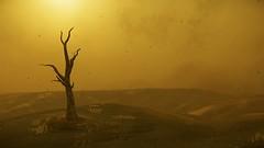 Aberdeen - Stanton system (starcitizenenvironment) Tags: aberdeen videogame hurston sunset starcitizen