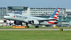 N187AN (AnDyMHoLdEn) Tags: americanairlines 757 oneworld egcc airport manchester manchesterairport 23r
