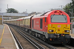 67028 (Photography By Ryan Webb) Tags: db cargo uk class 67 67028 skip 1z31 belmond british pullman rainham kent