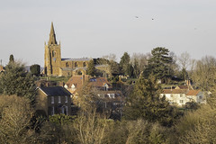 Eaton (NathanBateson) Tags: england english villages countryside farming leicestershire rural british heart eaton vale belvoir church spire zoom