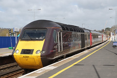 Cross Country 43301  - Exeter (Neil Pulling) Tags: hst class43 crosscountrytrains db arriva railway exeterstdavids devon train transport 43301