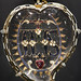 Heart-shaped pendant with IHS monogram, Spain, 1600-50
