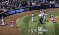 A three run homer will do that (Steve Starer) Tags: aaronjudge giancarlostanton lukevoit nyc newyork newyorkcityphotography newyorkphotography places yankeestadium baseball newyorkyankees yankees