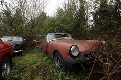 IMG_3628 (mookie427) Tags: urbex urban explore exploration exploring explorers explorer ue derelict dereliction abandoned abandonment decay decayed car graveyard scrapyard uk rust rusty