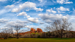 14/52 - Cathedral Rock (jonwhitaker74) Tags: blue clouds rock sedona cathedral arizona pamorama landscape