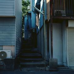 桜ノ宮 (Vinzent M) Tags: 桜ノ宮 sakuranomiya japan zniv tlr rollei rolleiflex 35 zeiss planar osaka 日本 大阪 kodak ektar