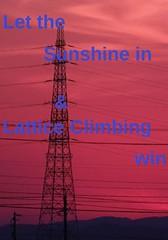 Sunset (feldweg2008) Tags: leitungsbau arbeitsplatz gittermast strommast latticeclimbing lineman germany linemen pride arbeiten deutschland world steeltowers gittersteigen klettern spruch motivation gif klettersteig industrial urban climbing latticeclimb urbanclimbing towerdog towerclimbing pylon torre turm konstruktion worker working latticecategory grid sunset abend sun view bauwerke