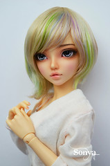 DSC_2132 (sonya_wig) Tags: fairytreewigs wig bjdwig minifeewig bjd bjdminifee minifeechloe handmadedoll bjddoll dollphoto fairyland fairylandminifee minifee chloe bjdphotographycoloringhair