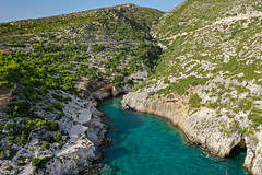 Porto Limnionas nature rock pool