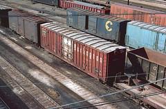 CB&Q Class XM-4B 49273 (Chuck Zeiler54) Tags: cbq class xm4b 49273 burlington railroad boxcar box car freight cicero train chuckzeiler chz