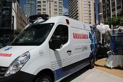 Saude nova Ambulância 08 02 19 Foto Soraya Bogarim (13) (prefeituradebc) Tags: saúde trailer praça tamandaré ação ambulância dentista atendimento