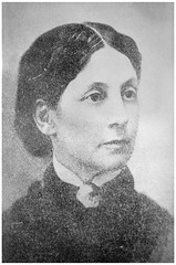 Helen Pitts Douglass—civil rights and women's rights activist: 1885 ca. (Washington Area Spark) Tags: helen pitts frederick douglass abolitionist women's suffrage rights vote civil interracial marriage black african american activist circa 1885 washington dc
