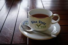 Cup of Blue Field Tea (FlorianMilz) Tags: ramboda nuwaraeliyadistrict srilanka lk blue field tea leaves brew manufacturing picking cup spoon product table tasting