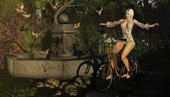 A vida é como andar de bicicleta. Para ter equilíbrio você tem que se manter em movimento. (Sara Baez) Tags: belleposes chezmoi cosmopolitanevents littlebranch phedora rama seniha