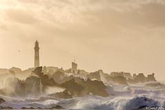 Ouessant - pointe du Créac'h (cedric.cain29) Tags: cedriccaïn ouessant îledouessant iroise bretagne finistère phare lighthouse phareducréach creach lumièresdouessant rochers paysages bzh sémaphore tempête storm