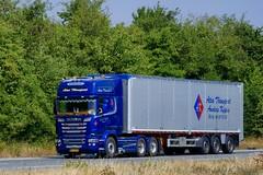 BV32638 (18.07.18, Motorvej 501, Viby J)DSC_5044_Balancer (Lav Ulv) Tags: 255361 scania rseries pgrseries scaniarseries r580 v8 topline blue walkingfloor dansontrailer 2017 ateatransport anderskøpke e6 6x2 r6 euro6 truck truckphoto truckspotter traffic trafik verkehr cabover street road strasse vej commercialvehicles erhvervskøretøjer danmark denmark dänemark danishhauliers danskefirmaer danskevognmænd vehicle køretøj aarhus lkw lastbil lastvogn camion vehicule coe danemark danimarca lorry autocarra danoise vrachtwagen motorway autobahn motorvej vibyj highway hiway autostrada trækker hauler zugmaschine tractorunit tractor artic articulated semi sattelzug auflieger trailer sattelschlepper vogntog oplegger sættevogn