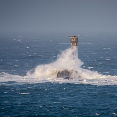 Gareth (Robgreen13) Tags: cornwall landsend longships lighthouse stormgareth seascape windswept waves rain ocean