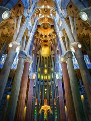 Sagrada Familia (Trey Ratcliff) Tags: stuckincustomscom treyratcliff spain catalonia barcelona sagrada familia la cathedral religion hdr hdrtutorial hdrphotography hdrphoto aurorahdr architecture design