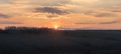 Sunset panorama (ya_i_john_wayne) Tags: landscape panorama sun sunset sky horizont nature