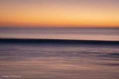 Port Willunga Camping (Helen C Photography) Tags: port willunga south australia beach ocean shore nikon d750 water waves sky dusk twilight orange blue