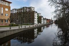 Mölndalsån (Rudi Pauwels) Tags: 2019onephotoeachday garda molndalsan reflections river buildings trees goteborg gothenburg 96365 sigma1850mm nikond7100