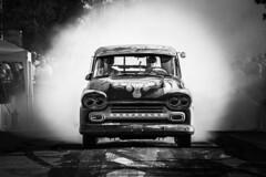 Burn-out! (Tim Lindstedt) Tags: car burnout black white blackandwhite bw mono monochrome photography photo photograph picture canon camera eos dslr sweden sverige digital photoshop