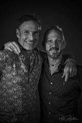 Studio portrait (Paul Boulter) Tags: studio portrait group friends monochrome black white 50140mm