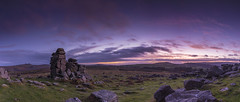 Hound Tor (Mark Frost :)) Tags: landscape devon uk dartmoor tor rock rocks granite sun sunset sunrise morning evening night sky blue clouds grass texture houndtor hound tamron nikon dslr camera photo photography