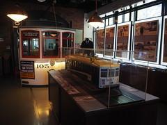 P9193022 (bentchristensen14) Tags: usa unitedstatesofamerica california sanfrancisco sanfranciscorailwaymuseum museum tram steuartstreet