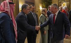جلالة الملك عبدالله الثاني يلتقي رئيس وأعضاء كتلة مبادرة النيابية (Royal Hashemite Court) Tags: kingabdullahii parliamentary blocs jordan