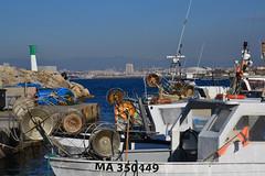 La Madrague (Jeanne Menjoulet) Tags: marseille madrague port bateaux pêche tirefilets