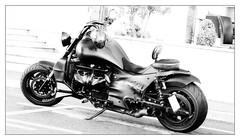 Black Power (endresárvári) Tags: motor motorcycle blackwhite bw canon black power rain monochrome