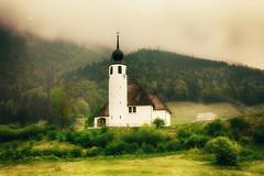 Unterwegs... (EdiB.) Tags: church mountain landscape spring bayern berchtesgaden misty germany