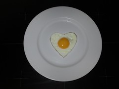 Simple Valentine egg plate (Norco Ranch Eggs) Tags: norco ranch eggs simple valentine egg plate