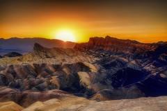 Mission to Mars (Gio_guarda_le_stelle) Tags: zabriskiepoint sunset deathvalley warm desert usa west