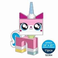 Staticker Unikitty - Size Reference
