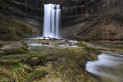 Waterfall 2 - Cascade du Dard (Captures.ch) Tags: aufnahme capture baum fluss forest gras hill hügel landscape landschaft river stein stone tal wasserfall waterfall water wasser wald valley tree switzerland waadt swiss orbe