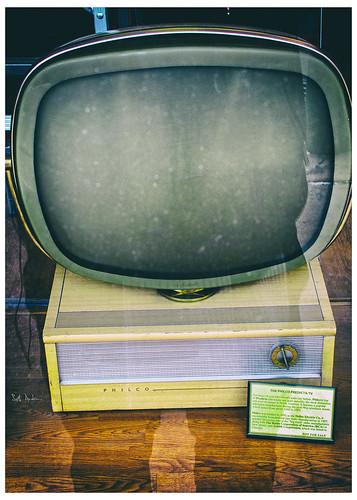 Gazing At a Philco Predicta TV